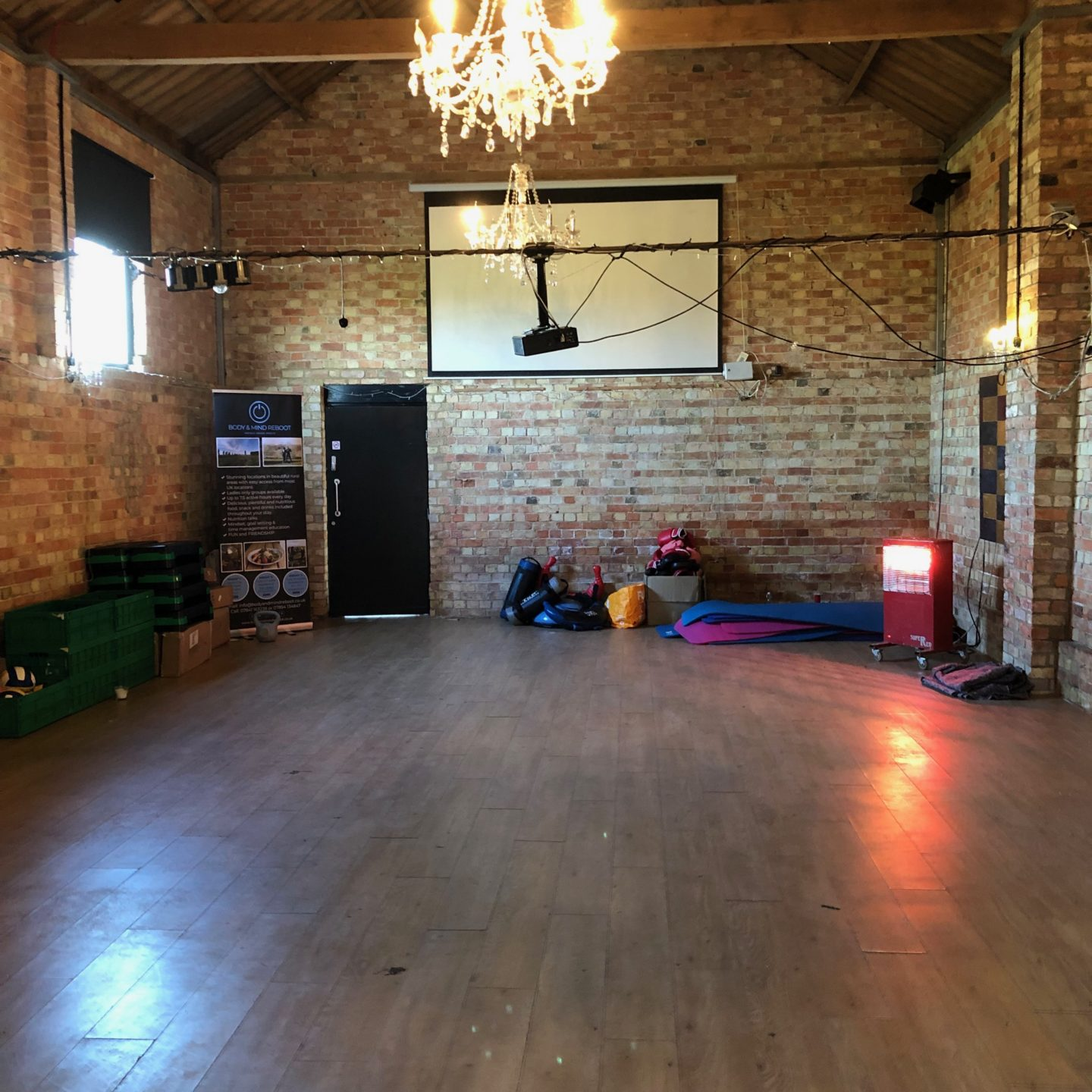 Indoor Yoga Space at Body And Mind Reboot