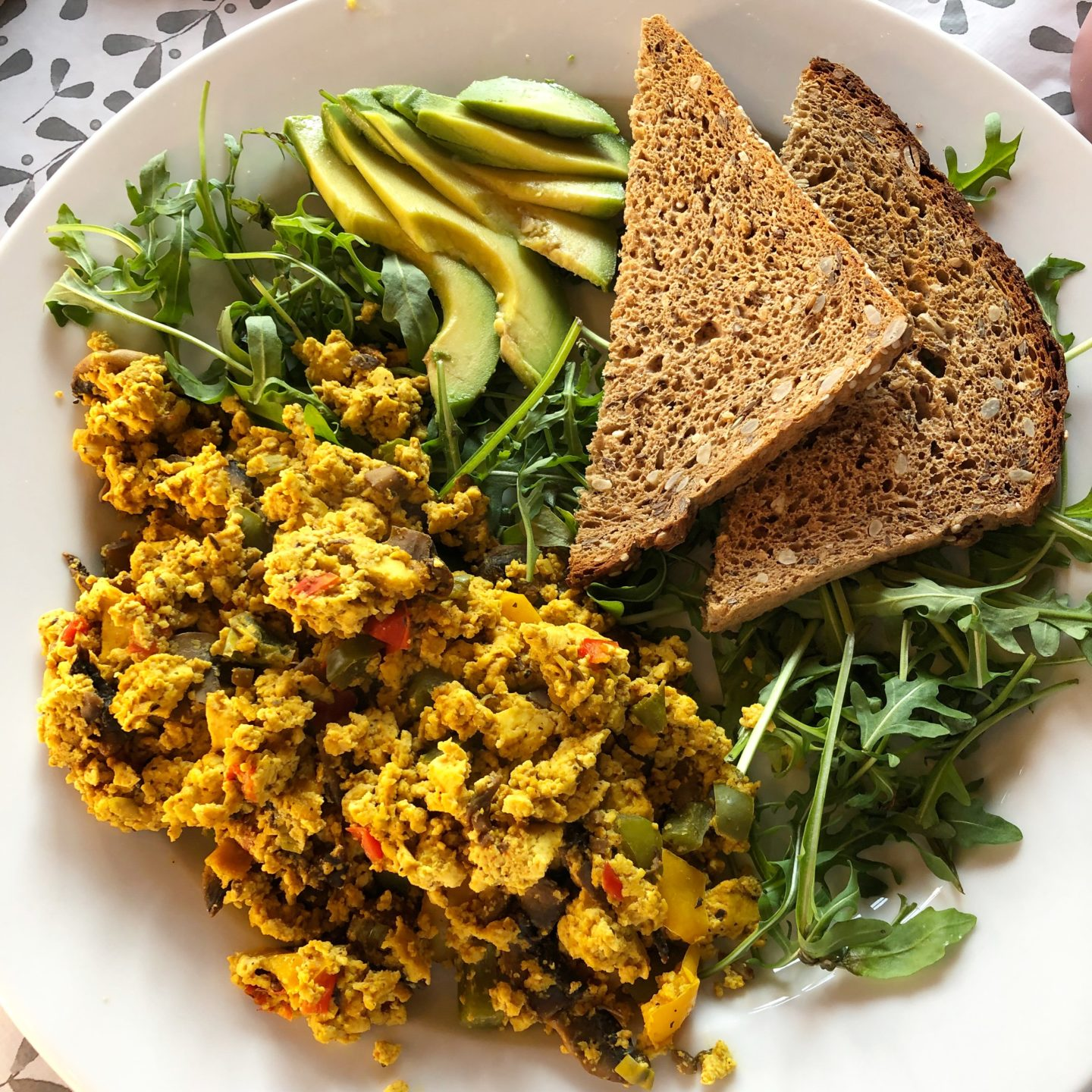 Scrambled tofu The Game Changer Kitchen Body and Mind Reboot