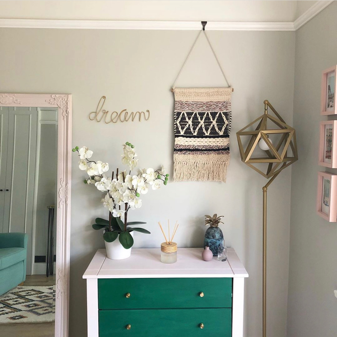 Spare Bedroom Corner
