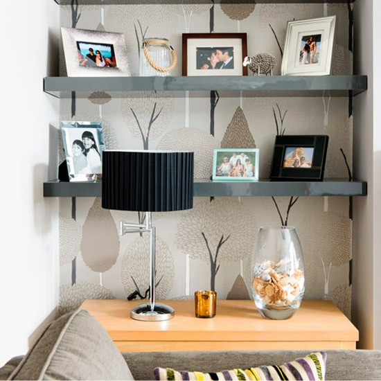 Living room alcove | 1930s Surrey semi | House Tour | PHOTO GALLERY | Ideal Home | Housetohome.co.uk