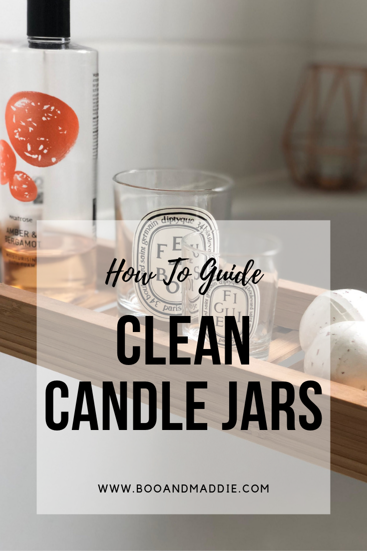 How To Guide: Clean Candle Jars