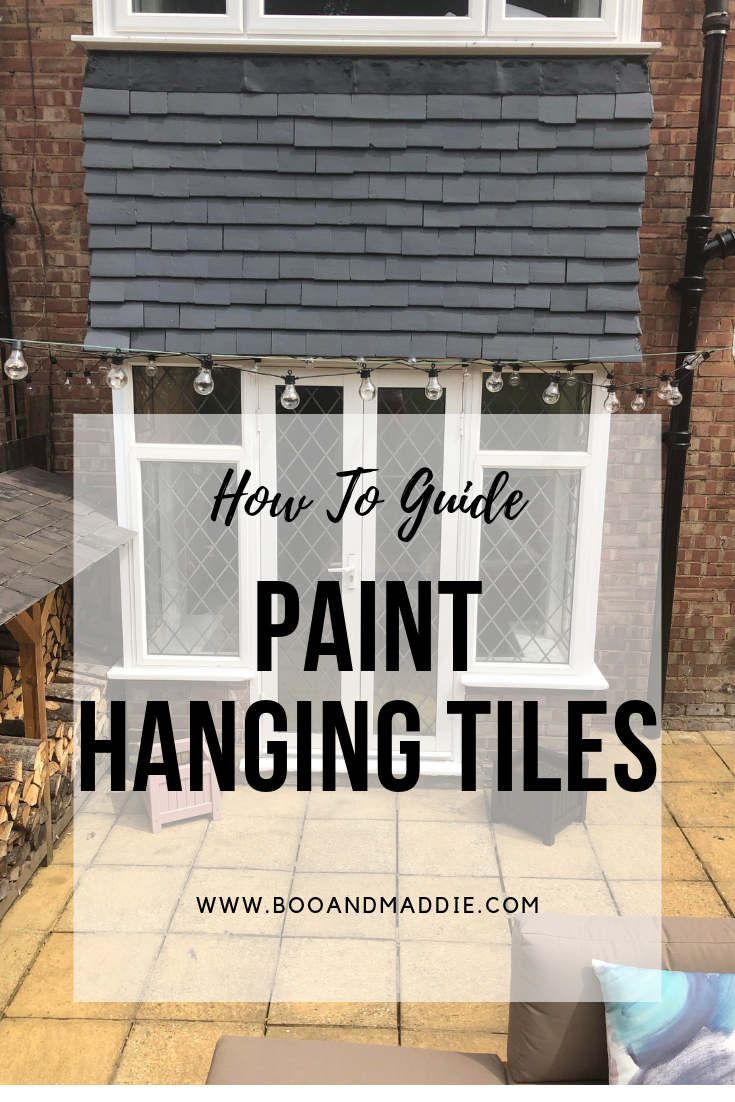 How To Guide Paint Hanging Tiles