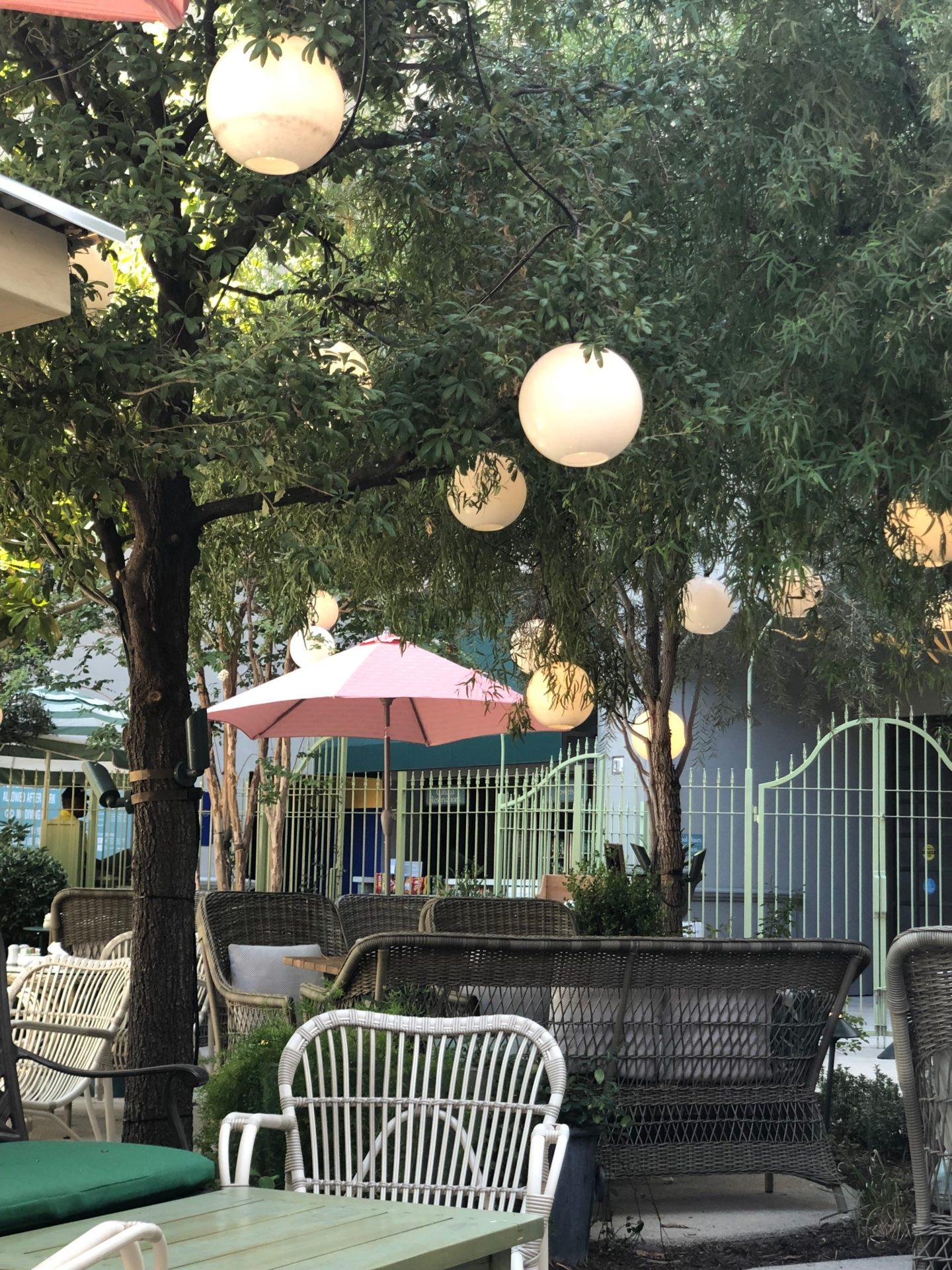 Primrose Outdoor Terrace MGM Park Las Vegas